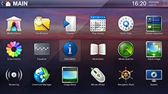 Default 4K Fullscreen Navigation Interface